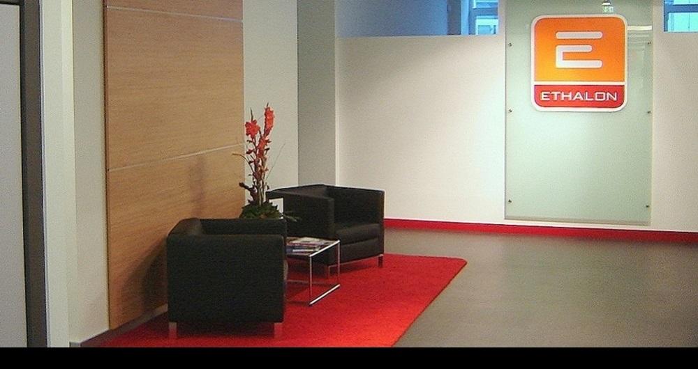 ETHALON GMBH HAMBURG | BÜRO-INNENAUSBAU Empfangsbereich: Werkplanung, Ausschreibung, Vergabe und Bauleitung für NH-Architekten
