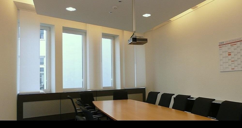 ETHALON GMBH HAMBURG | BÜRO-INNENAUSBAU Konferenzraum: Werkplanung, Ausschreibung, Vergabe und Bauleitung für NH-Architekten