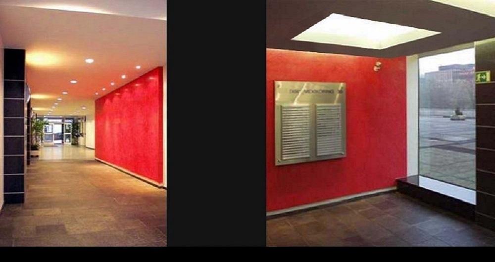 MEXIKORING HAMBURG | INNENAUSBAU DER FOYERS Teilmodernisierung der Eingangsbereiche: Werkplanung, Ausschreibung und Bauleitung für IPMC Objektdesign