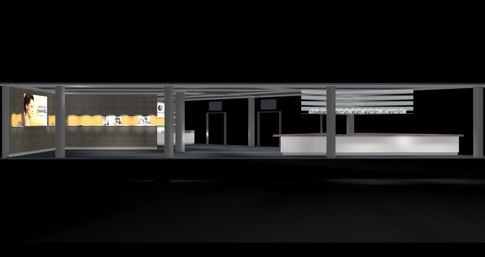 RUDOLPHS HAMBURG | EVENT-LOCATION Innenausbau-Konzept für Neubau: Entwurf und Kostenschätzung