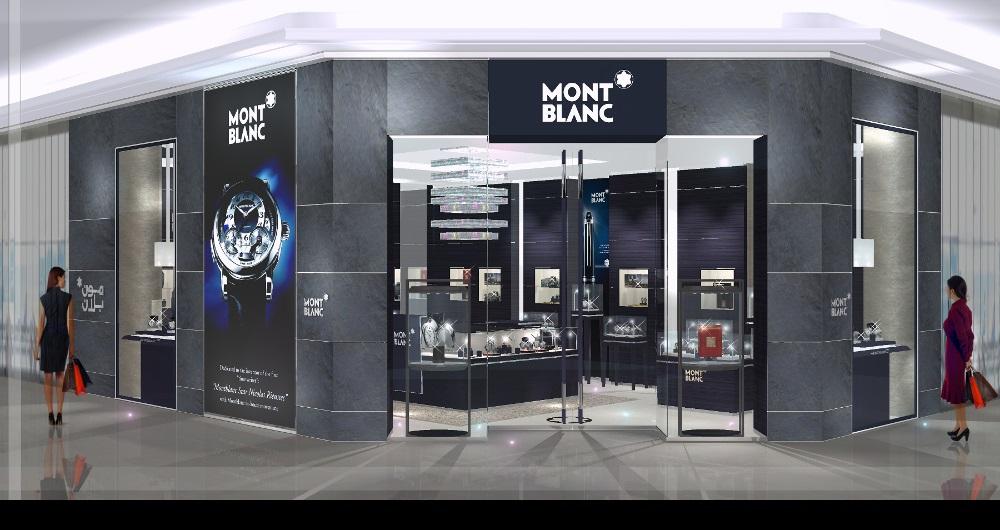 MONTBLANC INTERNATIONAL | FRANCHISE BOUTIQUEN Visualisierung: Franchise-Boutiquen für KB-Konzept