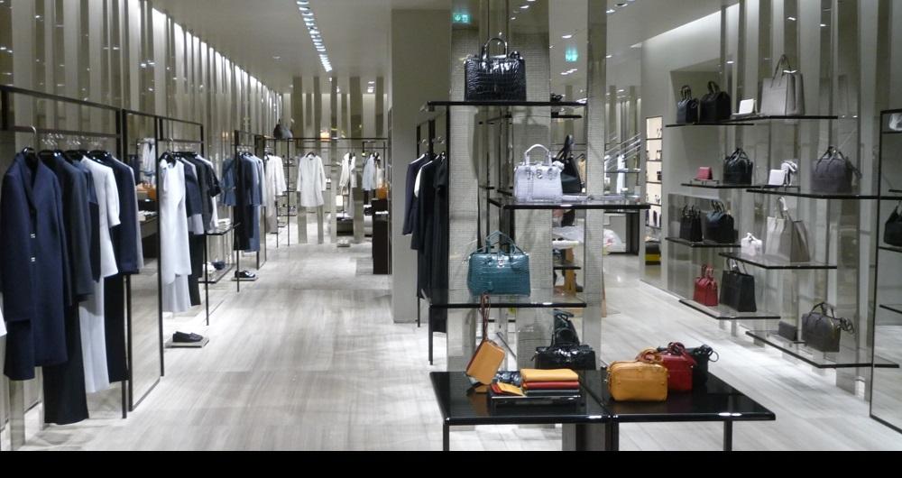 GIORGIO ARMANI | NEUER WALL HAMBURG Verkaufsfsraum Erdgeschoss: Projektsteuerung und Baugenehmigungen für AES Bergamo