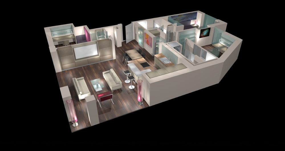 BAHRENFELDER STR. HAMBURG | NEUBAU | (kein Innenraumfoto wegen Schutz der Privatsphäre) Neugestaltung Gesamtwohnung: Entwurf, Werkplanung, Vergabe und Bauleitung