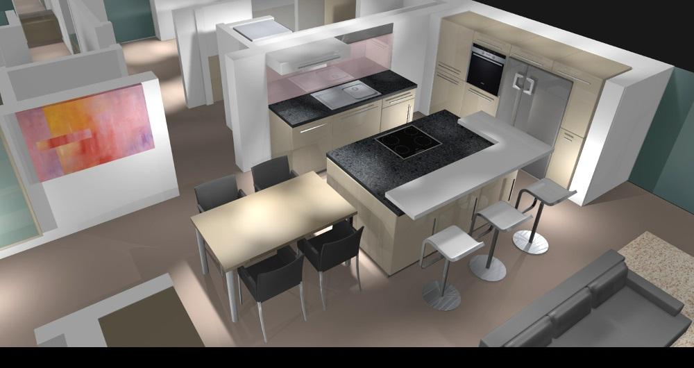 BAHRENFELDER STR. HAMBURG | NEUBAU | (kein Innenraumfoto wegen Schutz der Privatsphäre) Küchenplanung: Entwurf, Werkplanung, Vergabe und Bauleitung
