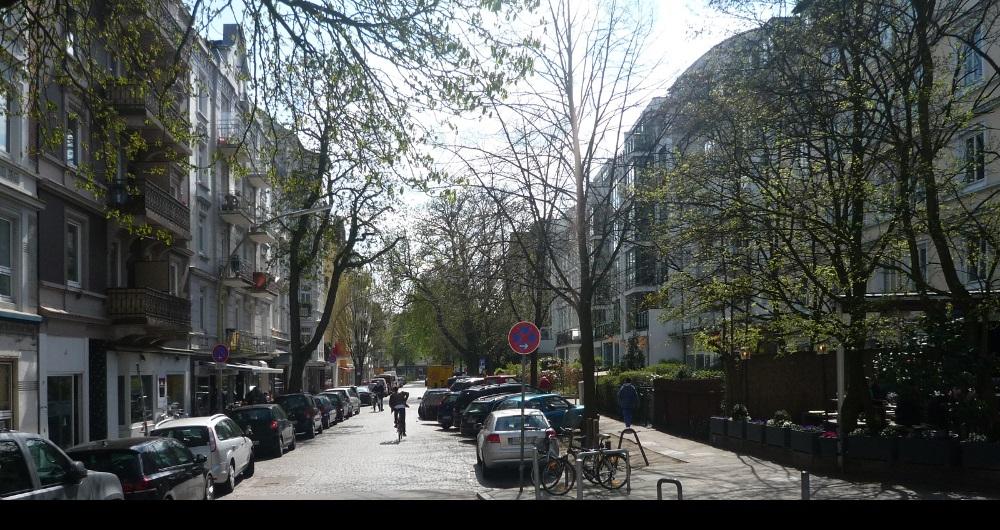 ERIKASTR. HAMBURG | INNENAUSBAU | (kein Innenraumfoto wegen Schutz der Privatsphäre) Beratung nach Neubezug einer Etagenwohnung: Entwurf und Kostenberechnung