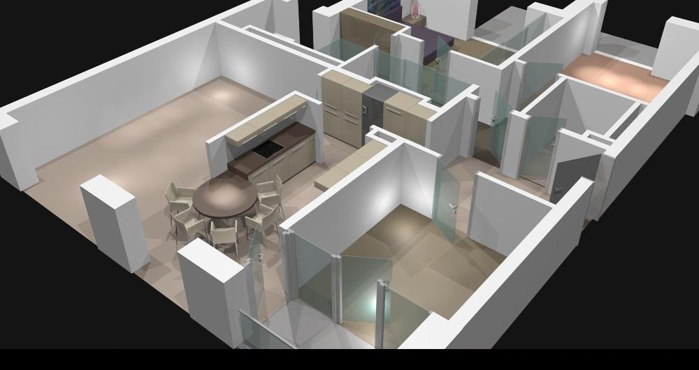 ZEIßSTR. HAMBURG | NEUBAU | (kein Innenraumfoto wegen Schutz der Privatsphäre) Beginn Neugestaltung Gesamtwohnung: Entwurf, Werkplanung, Vergabe und Bauleitung